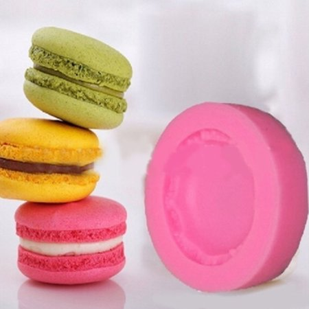 Cheers 3D Macaron Silicone Mold Fondant Cake Polymer Clay Chocolate Decoration DIY Tool - image 2 of 7