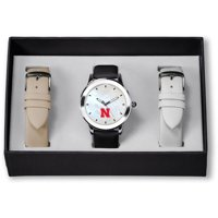 Nebraska Cornhuskers Sparo Women's Three Strap Watch Gift Set - No Size