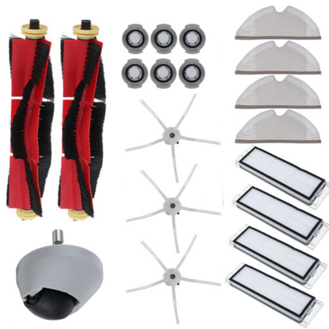 Replace Kit For Xiaomi Roborock S6 S5 MAX S60 Vacuum Cleaner Accessories-Parts