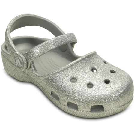 Crocs Girls' Child Karin Sparkle Clogs
