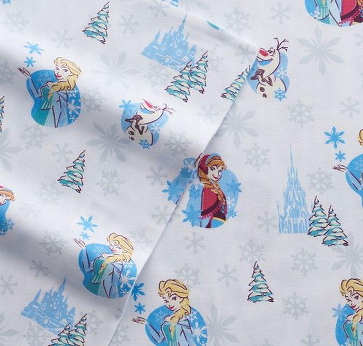 Jumping Beans Disney's Frozen Princess Flannel Sheet Set ...