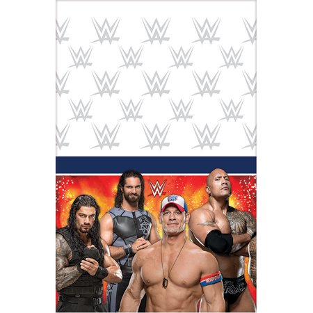 WWE Plastic Table Cover (Each) for $<!---->