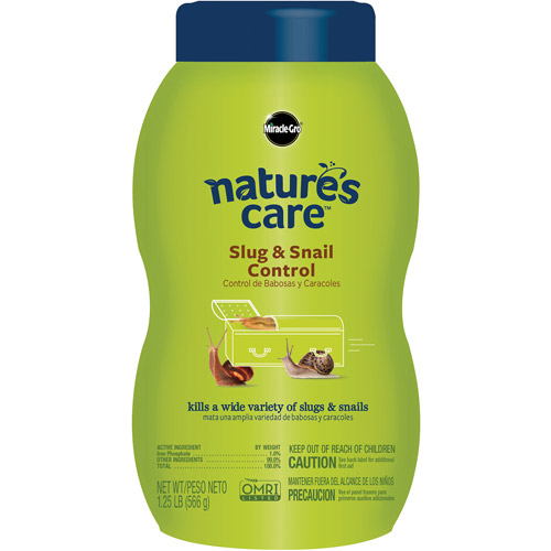 Miracle-Gro Nature's Care Slug & Snail Control 1.25 lbs
