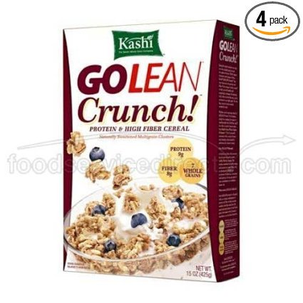 Kashi Golean Crunch Cereal, 45 Ounce -- 4 per
