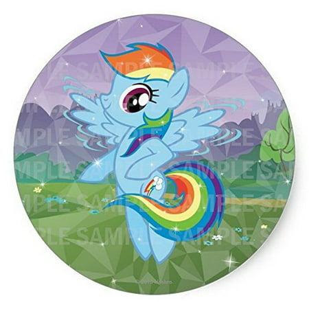 My Little Pony Rainbowdash Birthday Edible Frosting Image  8