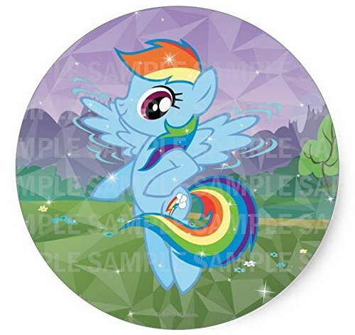 "My Little Pony Rainbowdash Birthday Edible Frosting Image  8"" Round Cake Topper"