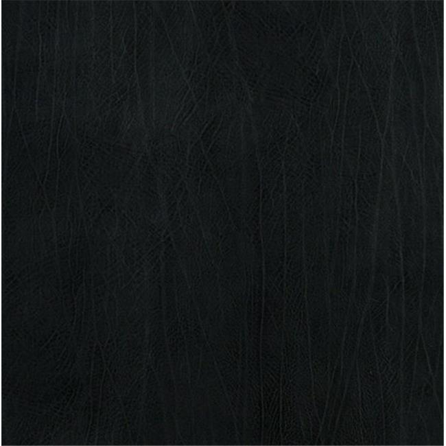 Designer Fabrics G581 54 in. Wide Midnight Blue, Upholstery Grade Recycled Leather