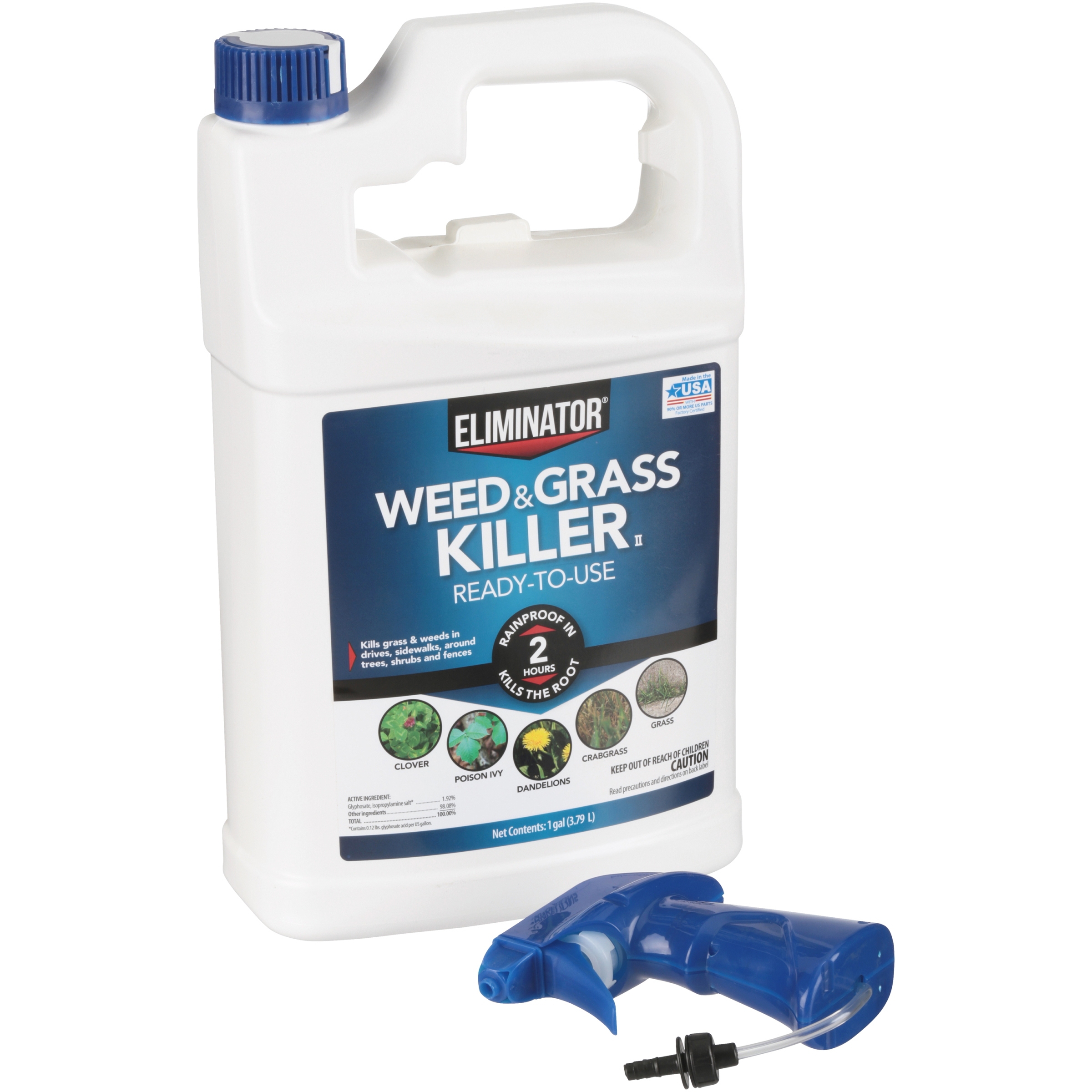 Eliminator Weed And Gr Herbicide Ready To Use Spray 1 Gallon