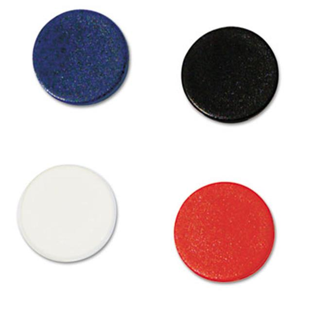 Bi-Silque Visual Communication Products IM140909 Interchangeable Magnetic Characters, Circles, Assorted, .75 in. Dia, 10-Pack - image 1 of 1
