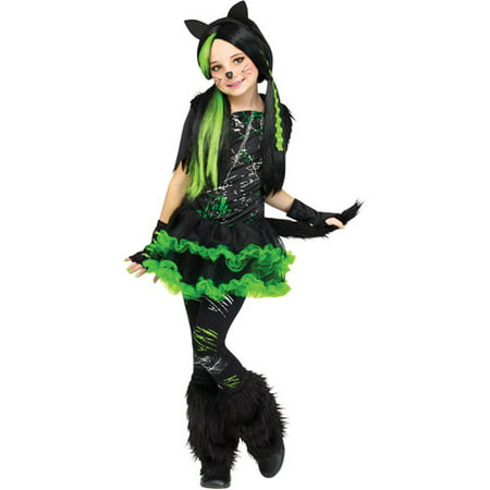 Fun World Kool Kat Child Halloween Costume](Fun Female Halloween Costumes)