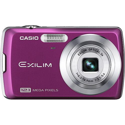 "Casio Exilim EX-Z35 Purple 12MP Digital Camera, 3x Optical Zoom, 2.5"" LCD, VGA Video"