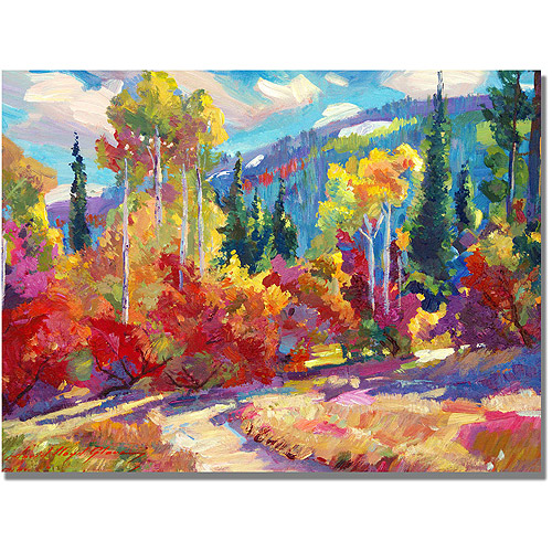 """Trademark Art """"The Colors of New Hampshire"""" Canvas Wall Art by David Lloyd Glover"""
