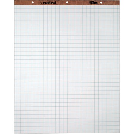 Grid Square Ruled Easel Pad (TOPS, TOP7902, 1