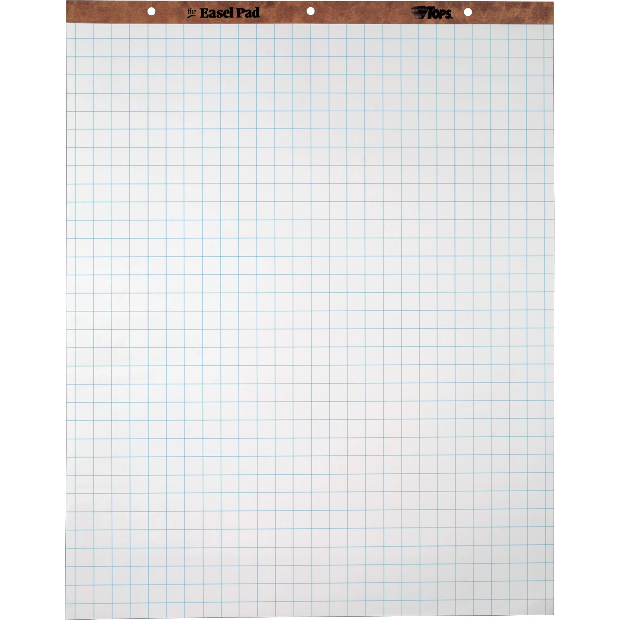 "TOPS, TOP7902, 1"" Grid Square Easel Pads, 2 / Carton"