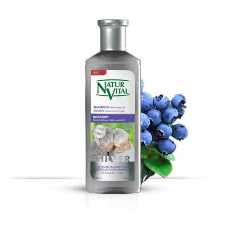Natur Vital Henna Shampoo For White And Gray Hair Certified