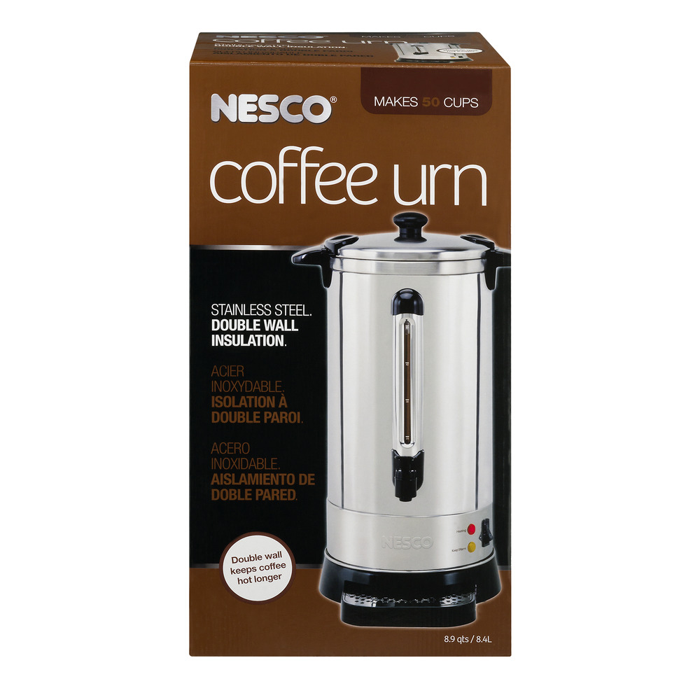 Nesco Coffee Urn Stainless Steel Double Wall Insulation, 1.0 CT