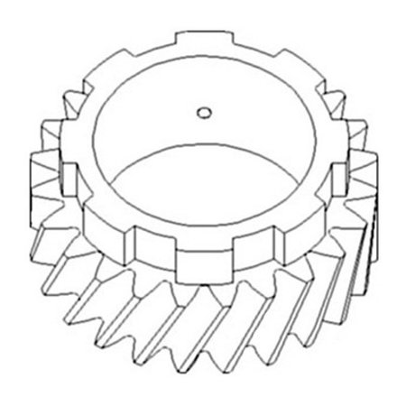 Allis Chalmers Pinion Shaft Gear (4th) (SN 13291
