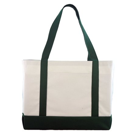 Daily Tote with Shoulder Length Handle and Outside - Tote Bags With Pockets