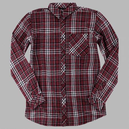 - Boxercraft F51MAR Maroon Men's Flannel Shirt