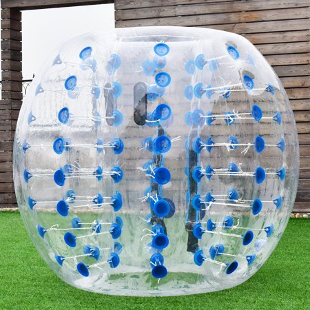 1.5M Inflatable Bumper Ball Body Zorbing Ball Zorb Bubble Soccer Football Blue - image 7 de 7
