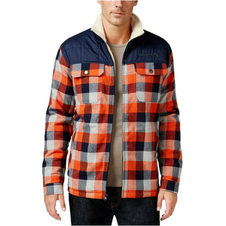 Free Country Mens Woodsman Sherpa Shirt Jacket