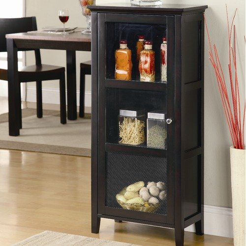 Wildon Home Jones Cabinet in Brown