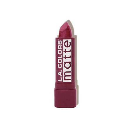 L.A. COLORS Matte Lip Color - Purple Passion