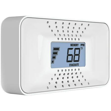 First Alert CO710 Carbon Monoxide Detector with 10-Year Battery and Digital Temperature Display Alert Audible Carbon Monoxide Detector