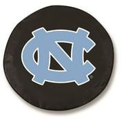 North Carolina Tire Cover in Black