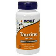 Taurine 500mg Now Foods 100 Caps