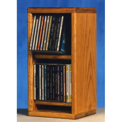 Wood Shed 200 Series 28 CD Multimedia Tabletop Storage Rack