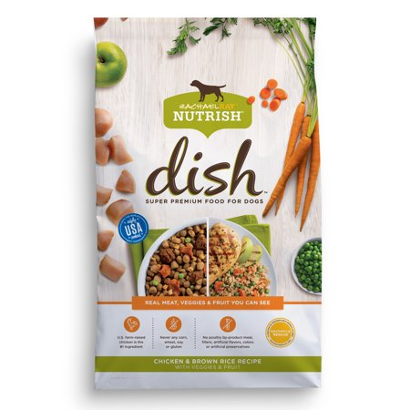 Rachael ray nutrish dish natural dry dog food chicken brown rachael ray nutrish dish natural dry dog food chicken brown rice recipe with veggies forumfinder Choice Image