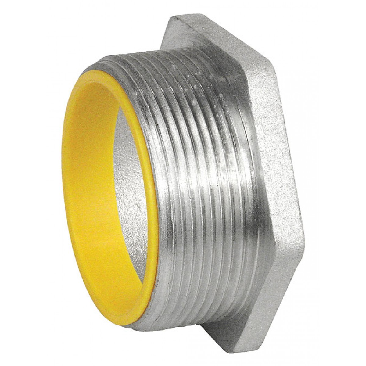 """5 Pcs, 1/2 In. Rigid Chase Nipple, Insulated, Die Cast Zinc to Connect 1/2"""" Conduits to Electrical Boxes & Enclosures"""