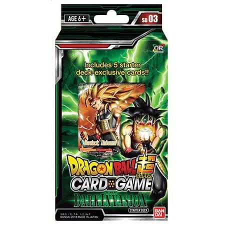 Dragon Ball Super Cross Worlds Series 3 Cross Worlds Series 3 Starter Deck Dark (Dragon Ball Super Card Game Vegito Blue)
