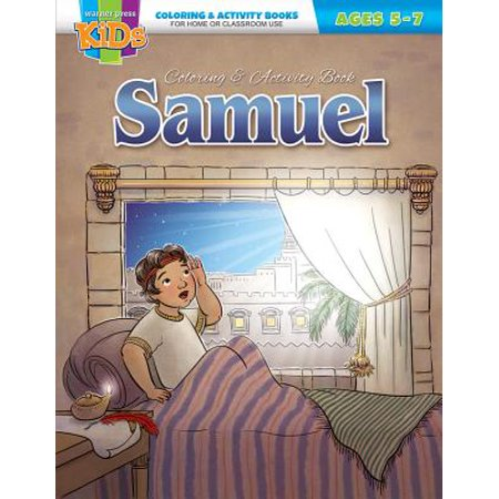 Kid/Fam Ministry Color and ACT Bks - General - Samuel (5-7)](Ministry Supplies)