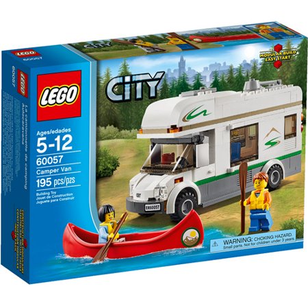 LEGO City Great Vehicles Camper Van Building Set