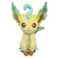 Sanei PP123 Pokemon Eeveelution All Star Collection Plush - Leafeon