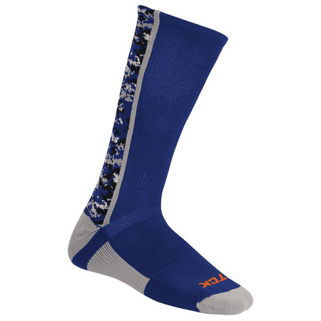 Twin City Digital Camo Crew Socks - Royal Camo