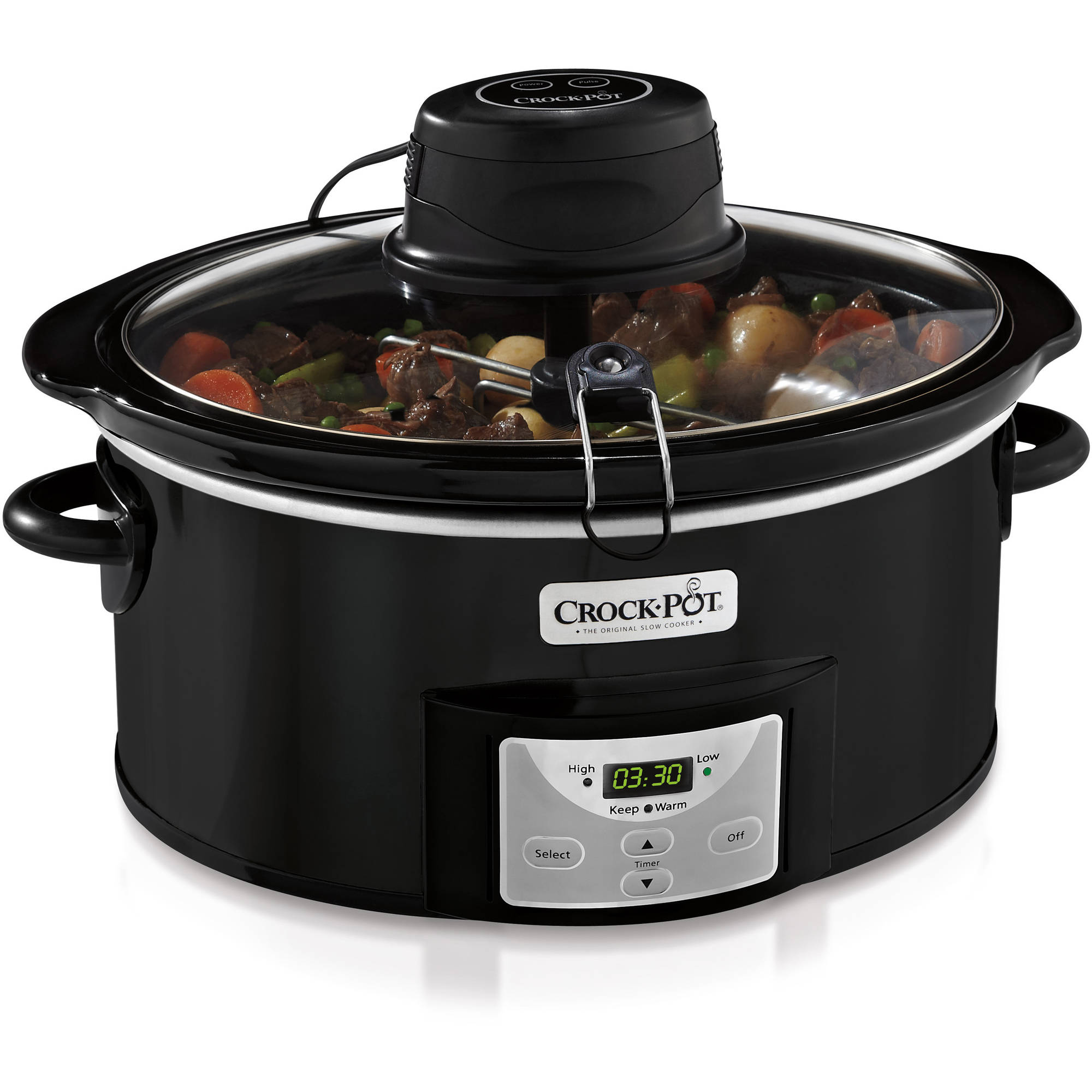 Crock-Pot 6-quart iStir Automatic Stirring Slow Cooker