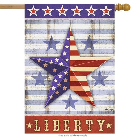briarwood lane liberty star primitive house flag patriotic 4th of july 28