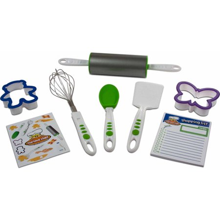 Kids Bakeware - Curious Chef 6 Piece Cookie Kit