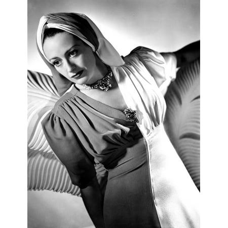 Joan Crawford Portrait Ca 1940 Photo Print