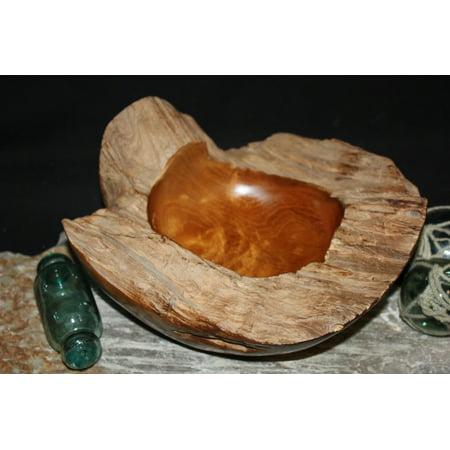 Rustic Teak Wooden Bowl 11