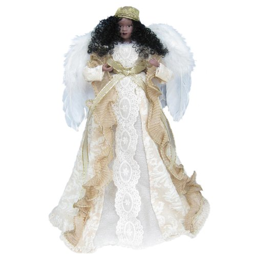The Holiday Aisle 14'' African American Angel Tree Topper
