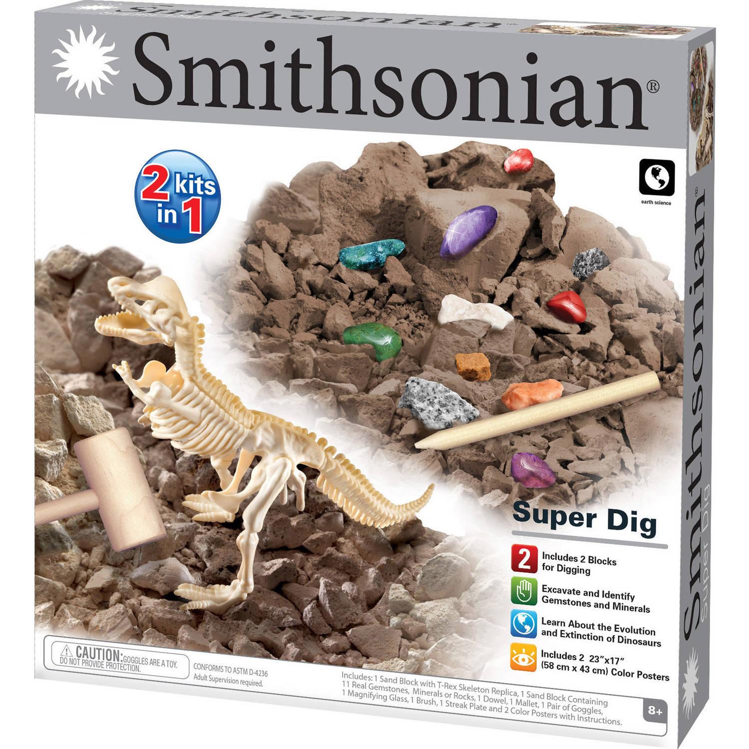 Smithsonian Super Dig Science Kit by Generic