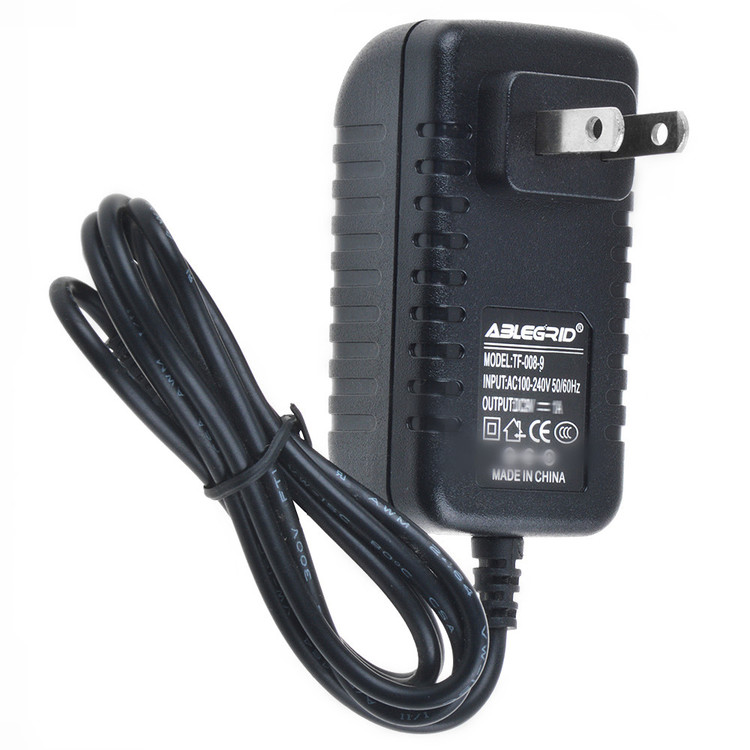 ABLEGRID AC / DC Adapter For SONY D-SJ15 Walkman Disc Discman Portable CD Audio Music Player Sports Power Supply Cord Cable PS Charger Mains PSU