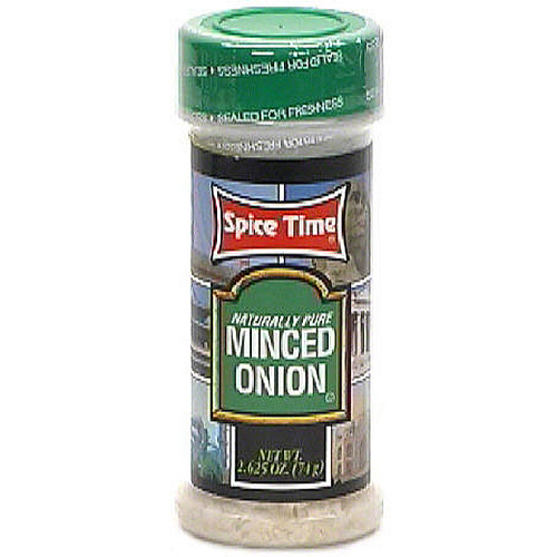 Spice Time Naturally Pure Minced Onion, 2.63 oz (Pack of 12)