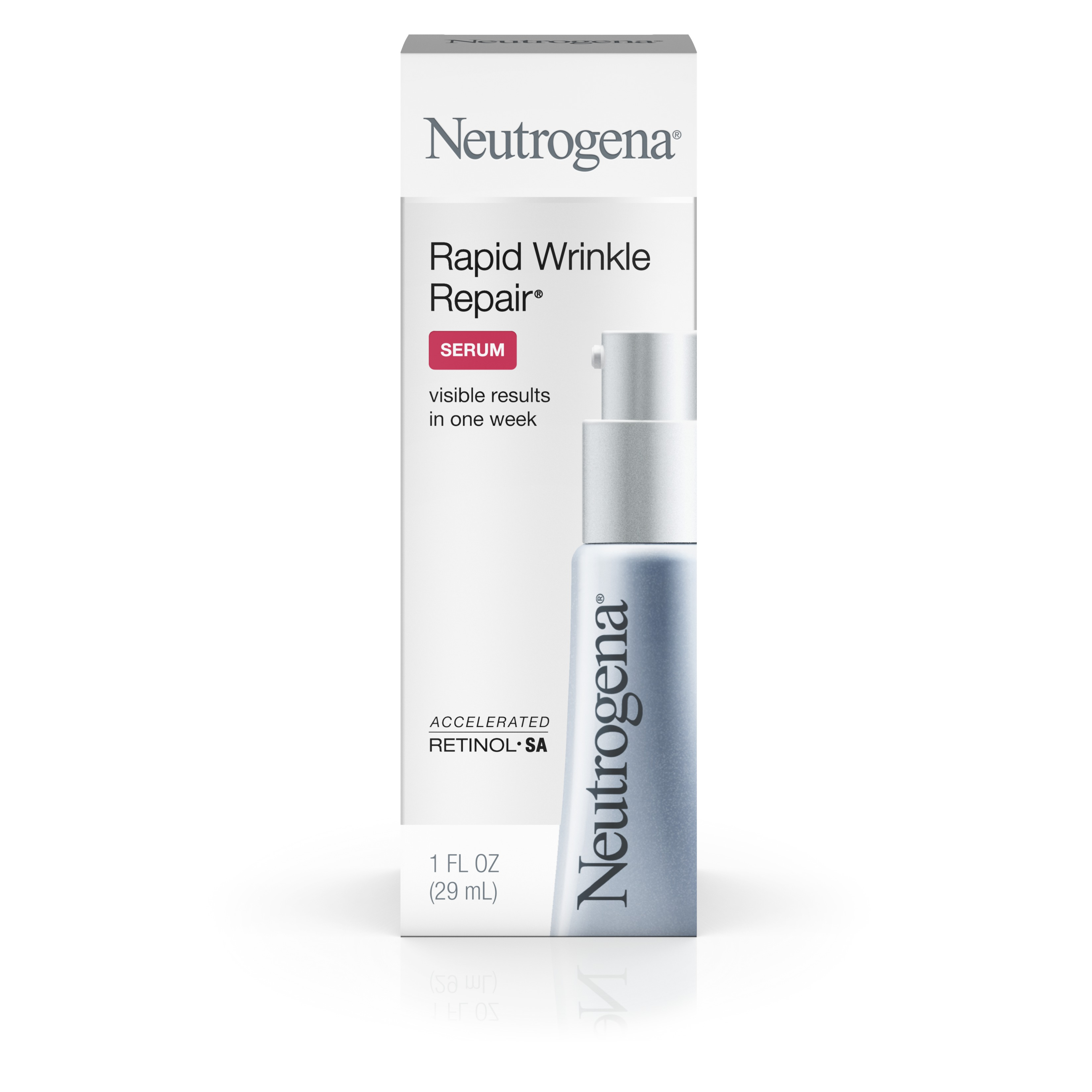 Neutrogena Rapid Wrinkle Repair Serum With Retinol, 1 Fl. Oz. - Walmart.com