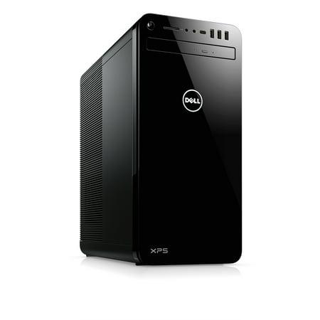 Dell - XPS Tower (XPS 8930), XPS8930-7101BLK, Intel Core i7-8700, 64GB 2666MHz DDR4, 256 GB M.2 PCIe X 4 (SSD) + 2TB 7200 RPM Hard Drive, NVIDIA GeForce GTX 1060