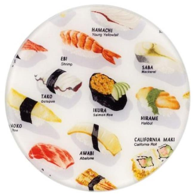 Andreas TRC-128 Sushi Casserole Silicone Trivet - Pack of 3 trivets